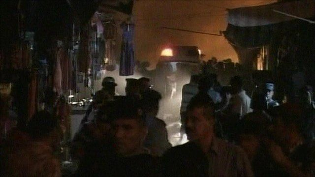 Deadly blast in Basra