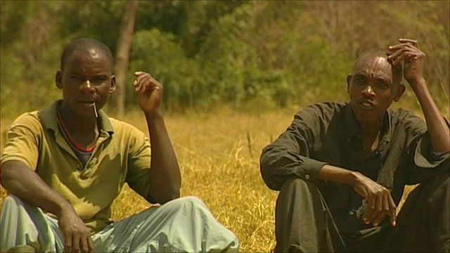 Two Rwandan men