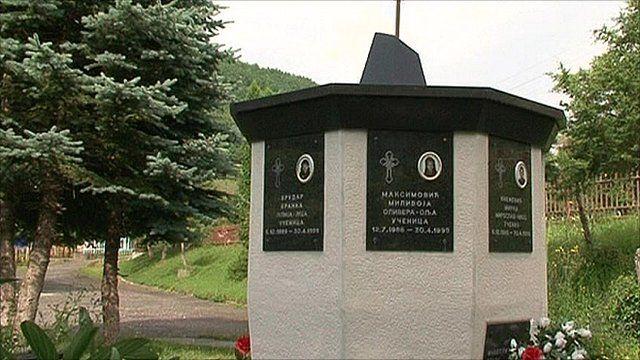 Memorial in Montenegro
