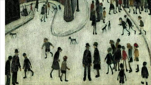 A Lowry painting