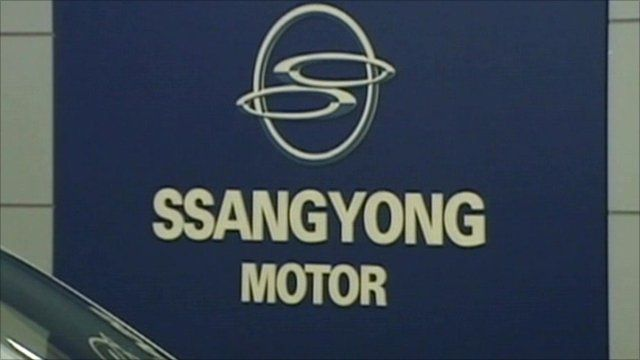 Ssangyong sign