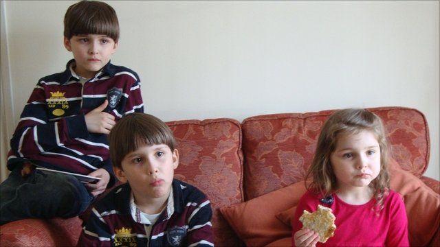 Luke, Austin and Cecilia Riggi