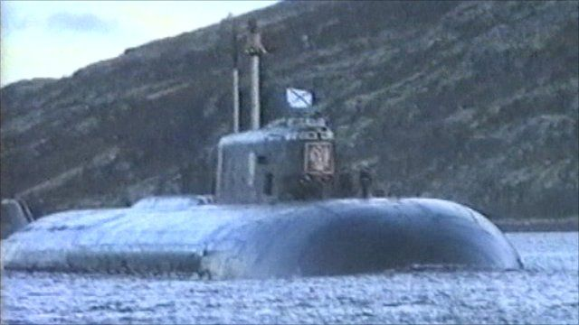 russian submarine Kursk