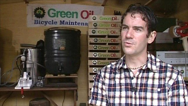Simon Nash, founder of Green Oil