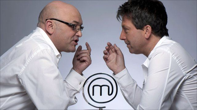 John Torode and Gregg Wallace - Celebrity Masterchef judges