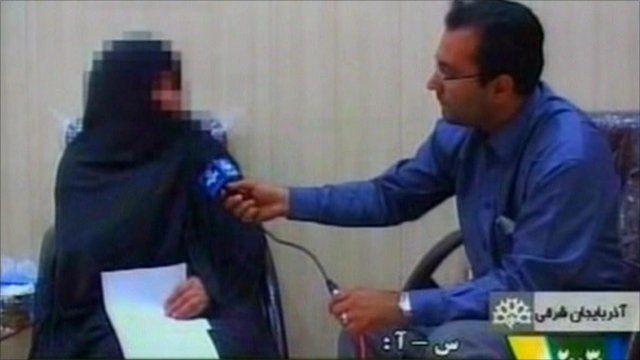 Iranian state TV broadcast