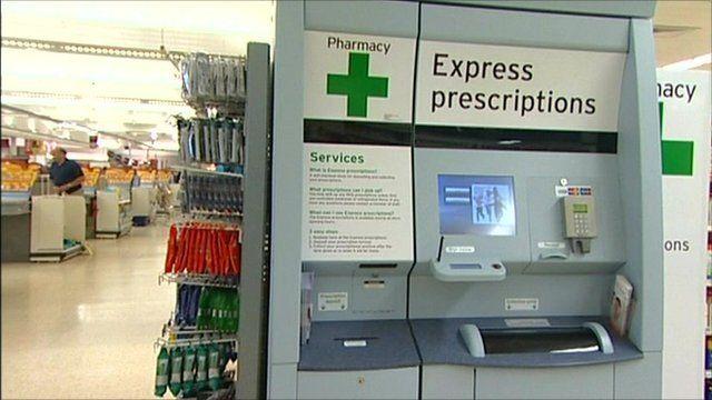 How The Prescription Drug Vending Machines Work Bbc News