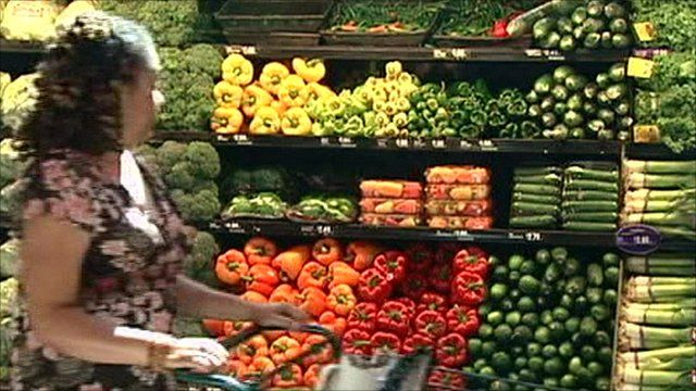 A picky eater looking at vegetables in a shop