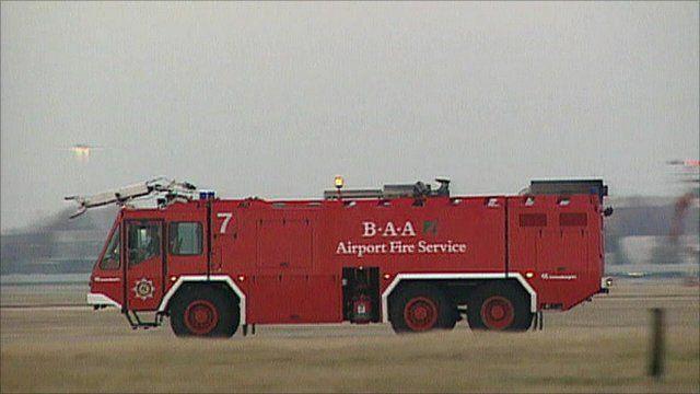 BAA fire truck