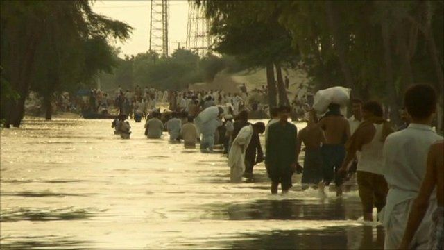 Pakistani flood victims