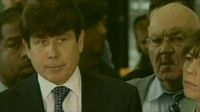 Former Illinois Governor Rod Blagojevich