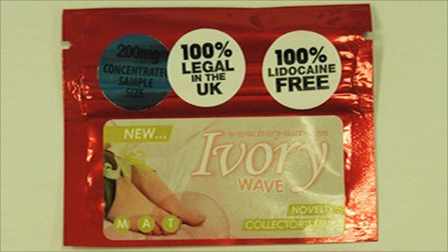 A packet of Ivory Wave