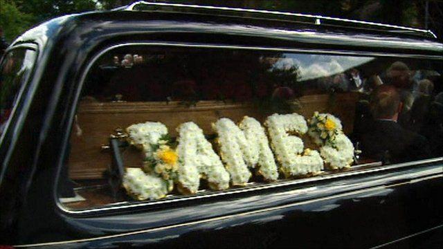 Funeral of Scottish trade union leader Jimmy Reid