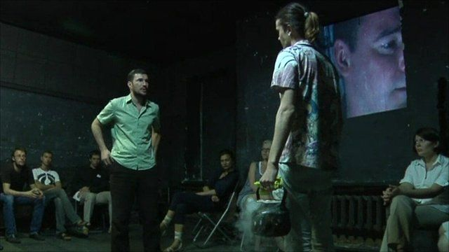 Play being performed