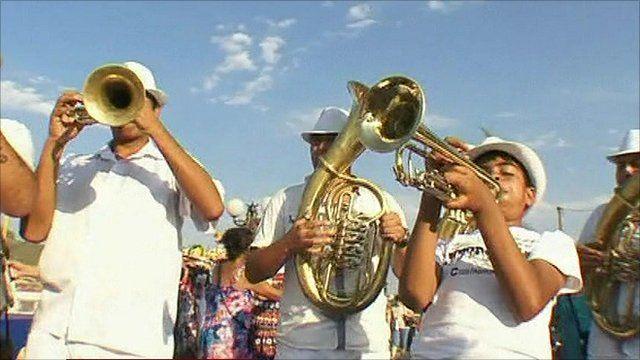 Trumpet festival in Serbia
