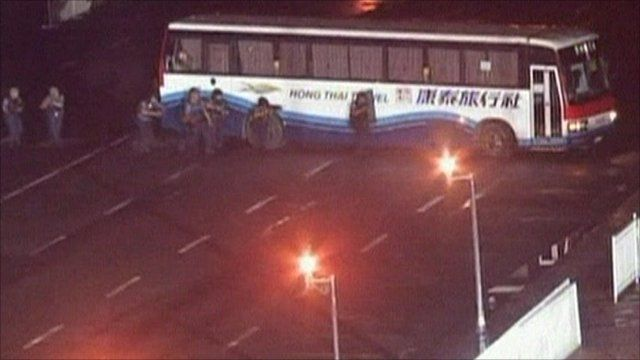 Manila bus hijack