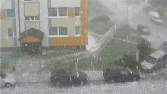 Polish hail