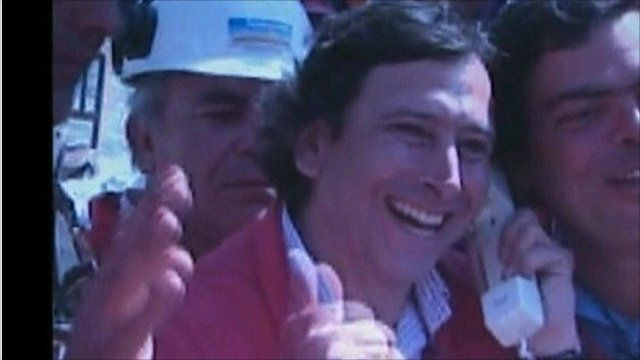 Chile's Mining Minister Laurence Golborne
