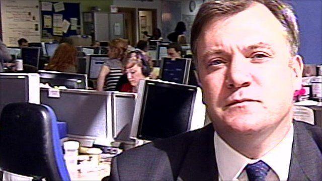 Shadow education secretary Ed Balls