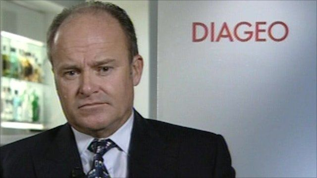 Paul Walsh, chief executive of Diageo