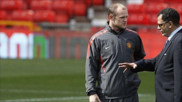 Wayne Rooney and a Fifa executive