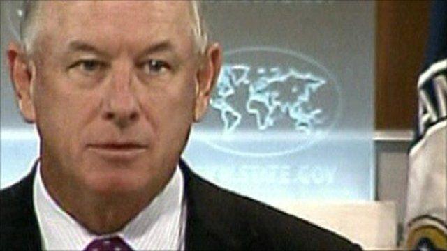 U.S. State Department Spokesman P.J Crowley