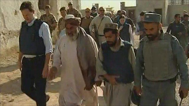 Nick Clegg in Afghanistan