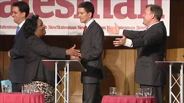 Ed Miliband, Diane Abbott, David Miliband and Ed Balls