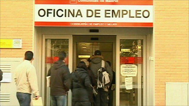 An unemployment office