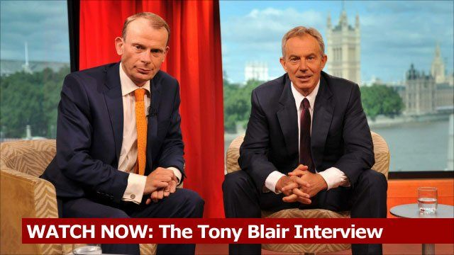 WATCH NOW: The Tony Blair Interview