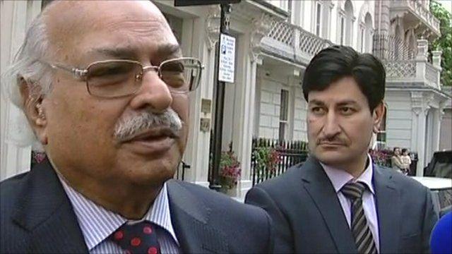 Pakistan High Commissioner Wajid Hasan