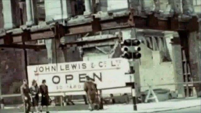 The John Lewis store on Oxford Street