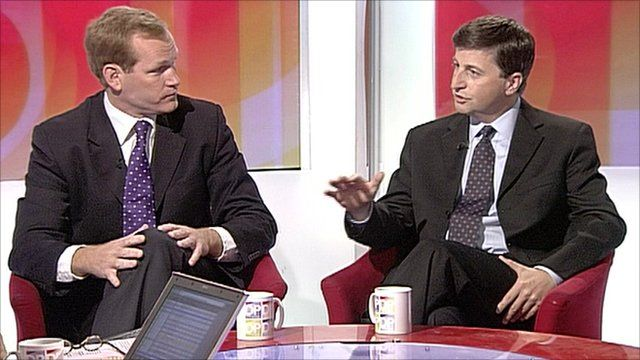 Jeremy Bowns and Douglas Alexander
