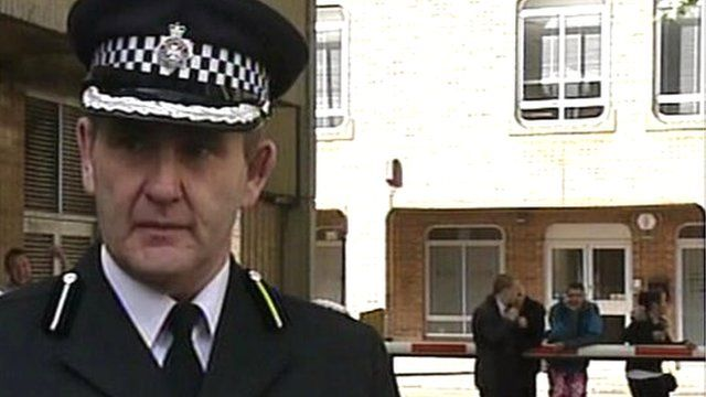 Assistant Chief Constable Patrick Geenty