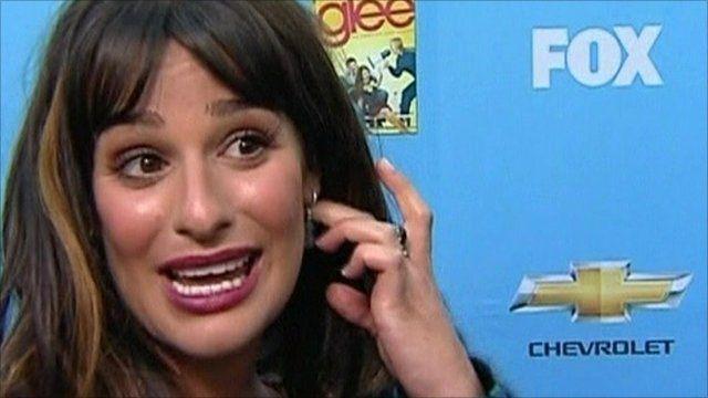 Lea Michele in Glee