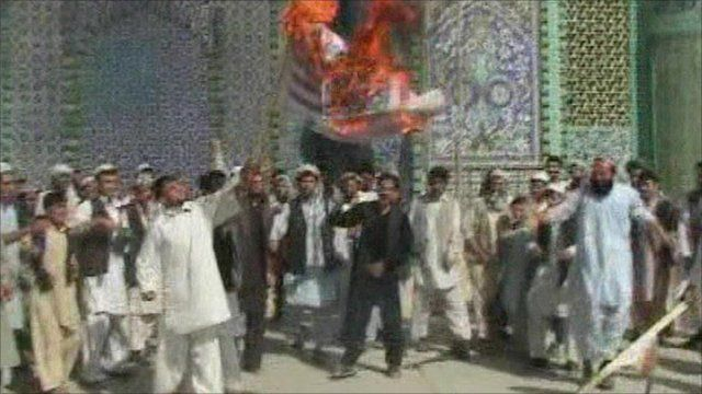 Protests in Afghanistan