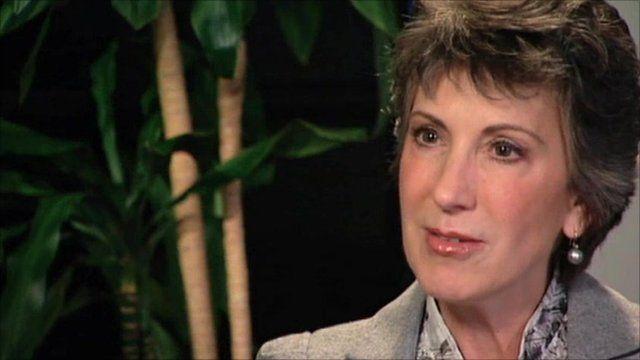 Republican candidate Carly Fiorina