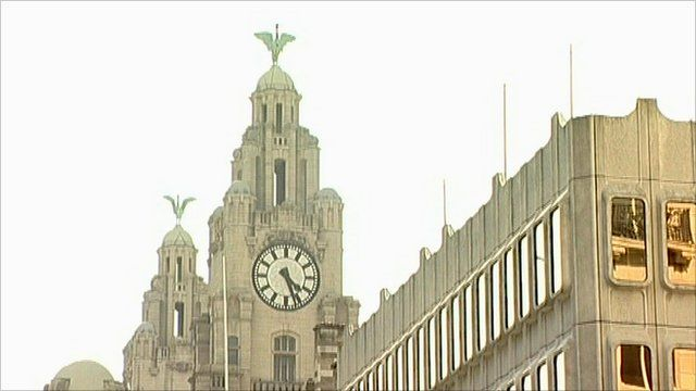 The Liver Birds on the Liver Building, Liverpool