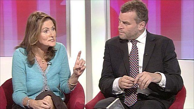 Cristina Odone and Tim Montgomerie