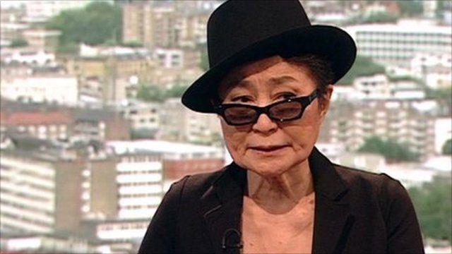 Yoko Ono on the Andrew Marr Show