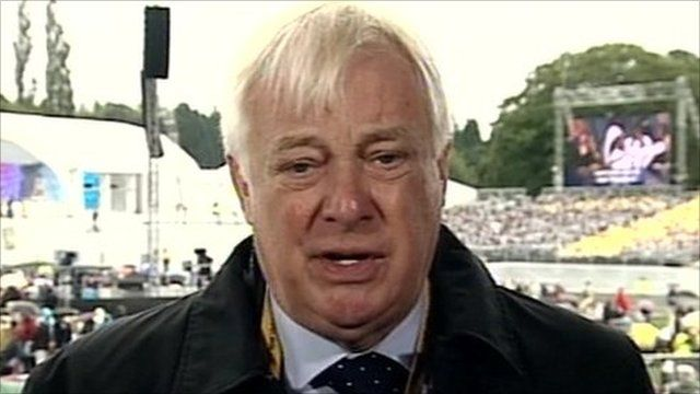 Lord Patten, the coordinator of the Papal visit.