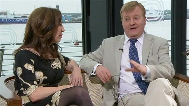 Amanda Platell, columnist and Charles Kennedy MP, former Leader of the Liberal Democrats.