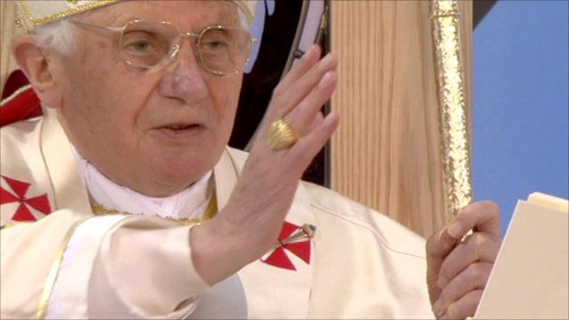 The Pope declares Cardinal Newman ''blessed''