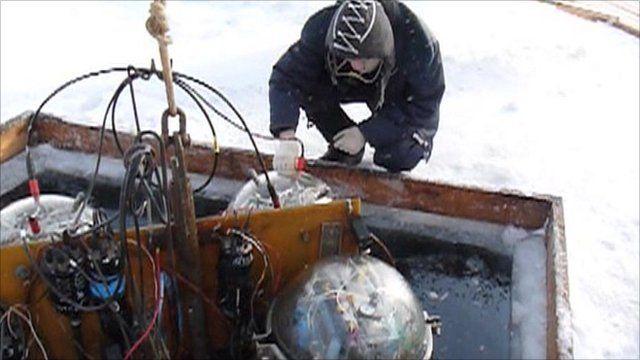 Baikal underwater telescope