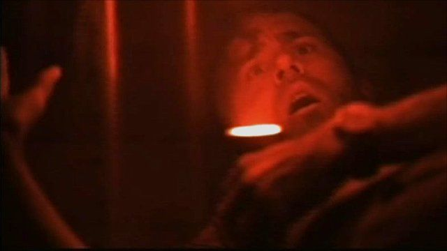 Scene from the film Buried