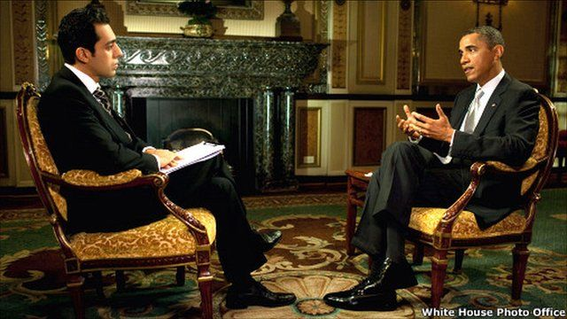 Obama speaks to BBC Persian