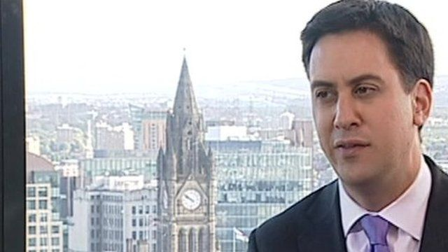 Labour leader Ed Miliband on Andrew Marr Show
