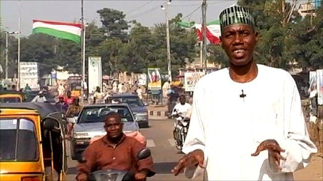 Ahmed Idris in the Nigerian city of Kano