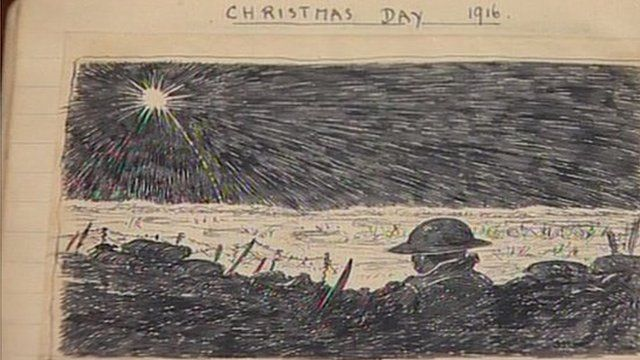 Lieutenant Kenneth Wooton illustrated diary