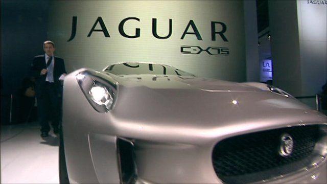 The new Jaguar C-X75